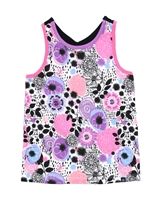 Nano Grils Tank Top in All-over Floral Print