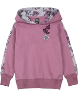 Nano Hooded Sweatshirt with Floral Print