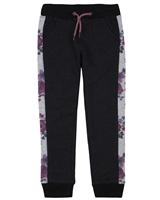 Nano Terry Pants with Floral Print Side Inserts