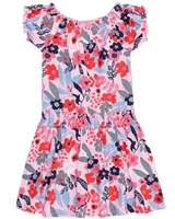 Nano Girls Dress in Floral Print