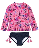 Nano Girls Two-piece Rashguard Swimsuit