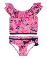 Nano Girls Two-piece Tankini in Floral Print