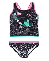 Nano Girls Two-piece Tankini in Toucans Print