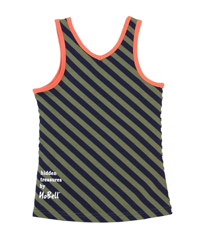 NoBell Junior Girl's Twistable Top