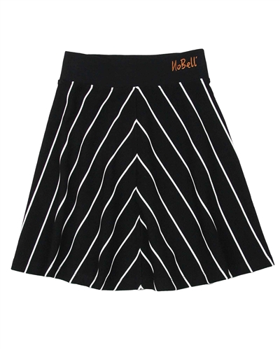 NoBell Junior Girl's Striped Skater Skirt