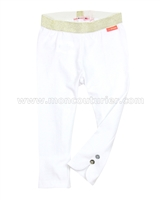 Nono Cropped Leggings White