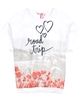 Nono Top with Poppy Print