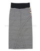 Nono Long Striped Skirt