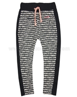 Nono Printed Sweatpants with Side Stripes
