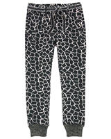 Nono Sweatpants in Giraffe Print