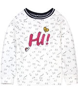 Nono Sweatshirt in Eyes Print