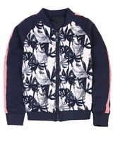 Nono Bomber Jacket in Palm Print