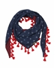Nono Polka Dot Scarf with Tassels
