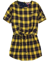 Nono Plaid Flannel Dress