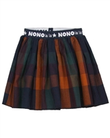 Nono Plaid Skirt