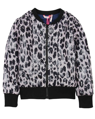 Nono Sequin Bomber Jacket