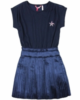 Nono Plisse Dress with Jersey Top