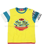 ONE UP by Eliane et Lena Boys' T-shirt Pingpong