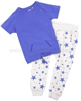 Petit Lem Little Star T-shirt ans Sweat Pants Set