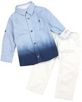 Petit Lem Little Sailor Shirt and Pants