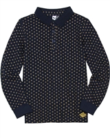 3Pommes Boy's Diamond Print Polo