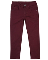 3Pommes Boy's Jogg Jeans in Burgundy