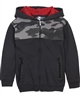 3Pommes Boy's Sweatshirt with Camo Shoulder Top