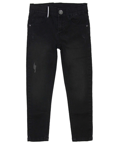 3Pommes Boy's Denim Pants with Distressed Details