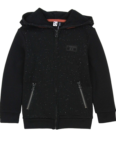 3Pommes Boy's Speckled Hoodie
