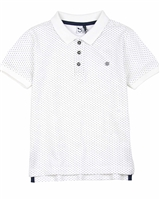 3Pommes Boy's Dotted Polo Label Vip