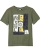 3Pommes Boy's T-shirt with Print Wild Soul