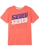 3Pommes Boy's T-shirt with Skate Print Colour Rider