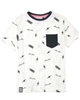 3Pommes Boy's T-shirt with Pocket Colour Rider