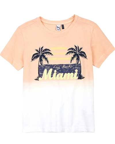 3Pommes Boy's Ombre T-shirt Miami Vice