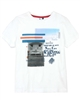 3Pommes Boy's T-shirt with Print Cargo Graphic,