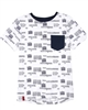 3Pommes Boy's T-shirt with Pocket Cargo Graphic
