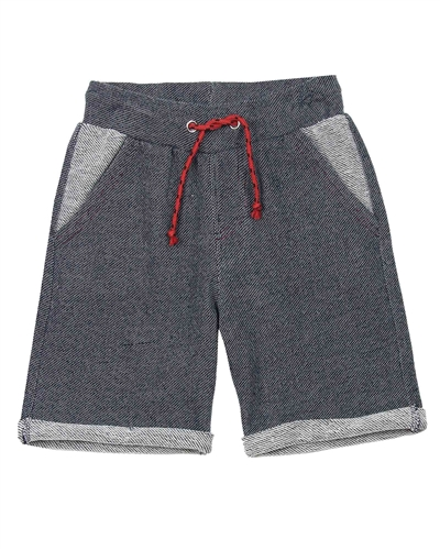 3Pommes Boy's Terry Shorts Cargo Graphic