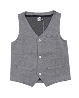 3Pommes Boys Knit Dress Vest