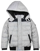 3Pommes Boys Quilted Winter Bomber Jacket