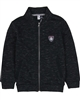 3Pommes Boy's Zip Front Terry Cardigan