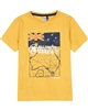3Pommes Boy's T-shirt with Map Print