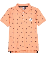3Pommes Boy's Printed Polo Shirt