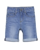 3Pommes Boy's Cuffed Denim Bermuda Shorts