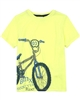 3Pommes Boy's T-shirt with Bicycle Print
