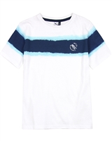 3Pommes Boy's T-shirt with Distressed Stripes