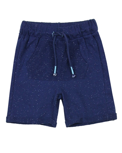 3Pommes Boy's Speckled Terry Bermuda Shorts