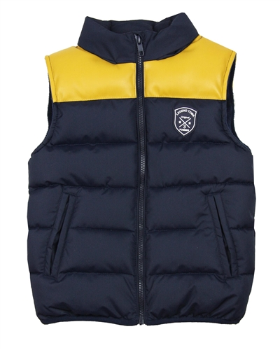 3Pommes Boys Quilted Puffer Vest