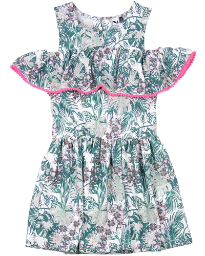 3Pommes Sundress in Hawaiian Print