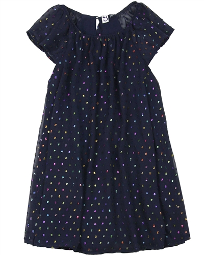 3Pommes Multicolour Dot Party Dress