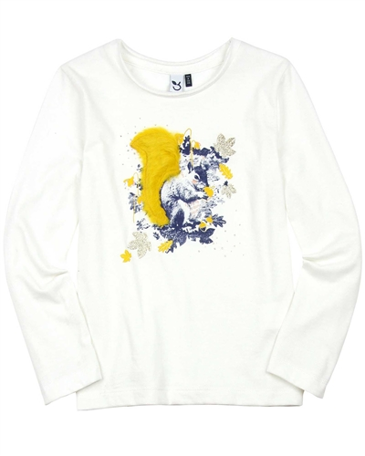 3Pommes T-shirt with Squirrel Design